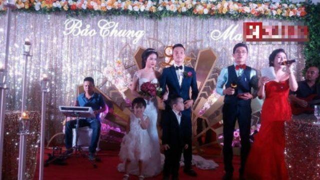 Choáng ngợp đám cưới siêu khủng của con đại gia Hà Tĩnh-Bắc Ninh - ảnh 4