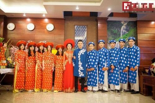 Choáng ngợp đám cưới siêu khủng của con đại gia Hà Tĩnh-Bắc Ninh - ảnh 5