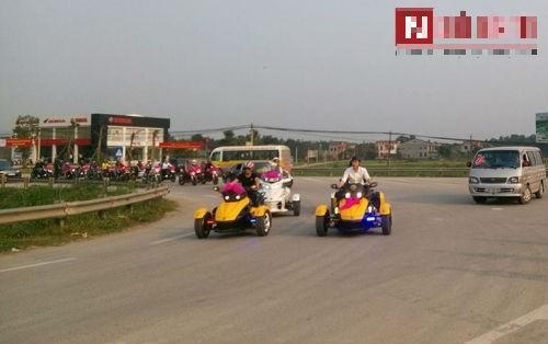 Choáng ngợp đám cưới siêu khủng của con đại gia Hà Tĩnh-Bắc Ninh - ảnh 2