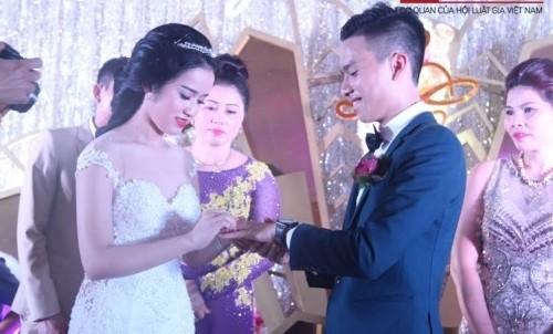 Lộ diện gia thế cô dâu chú rể trong đám cưới 'siêu khủng' Hà Tĩnh - ảnh 2