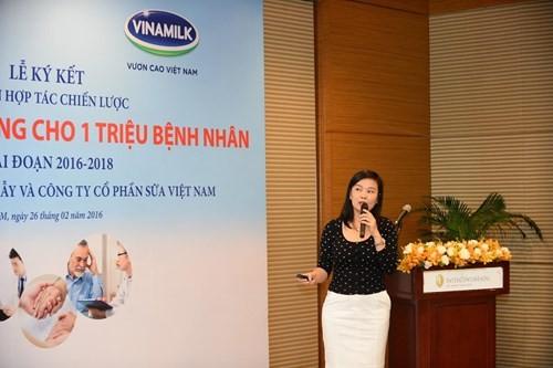 Vinamilk hợp tác chiến lược với Bệnh viện Chợ Rẫy - ảnh 3