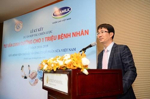 Vinamilk hợp tác chiến lược với Bệnh viện Chợ Rẫy - ảnh 4