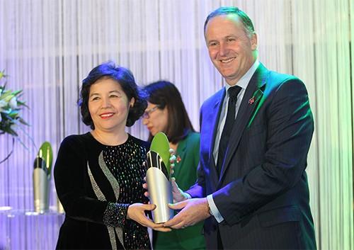 Tổng giám đốc Vinamilk nhận giải thưởng New Zealand ASEAN - ảnh 1