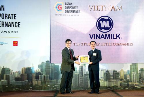 Vinamilk có điểm Quản trị công ty tốt nhất Việt Nam - ảnh 1