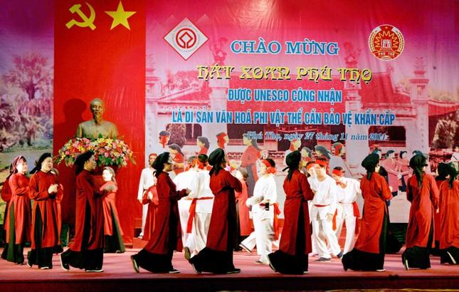 Hát xoan Phú Thọ được đề nghị là di sản văn hoá phi vật thể  - ảnh 1
