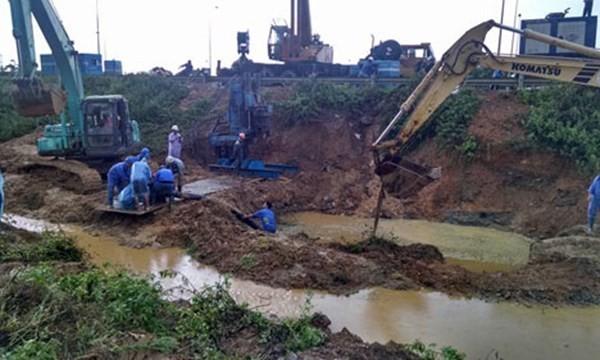 Nhà thầu Trung Quốc trúng thầu dự án đường ống nước sông Đà mới - ảnh 1