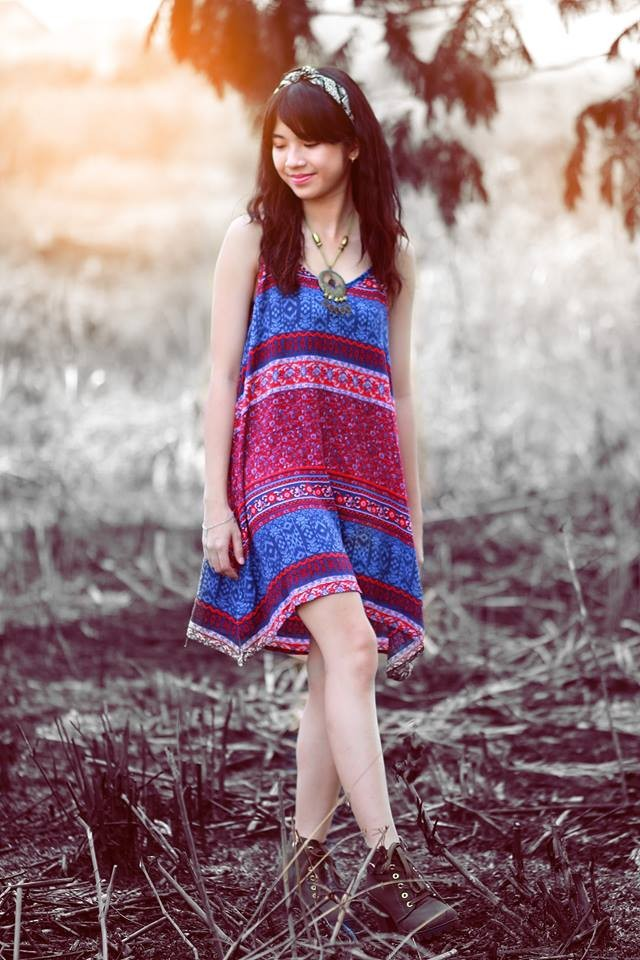 Nét đẹp hồn nhiên của 'hot girl Olympia' Lan Thy - ảnh 4