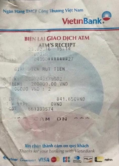 Vietcombank bị tố ATM 'nuốt' tiền và bồi hoàn quá lâu - ảnh 2