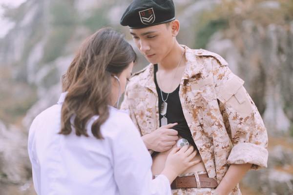 'Phát sốt' với bộ ảnh cưới 'Hậu duệ mặt trời' phiên bản Việt - ảnh 6