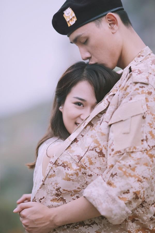 'Phát sốt' với bộ ảnh cưới 'Hậu duệ mặt trời' phiên bản Việt - ảnh 7