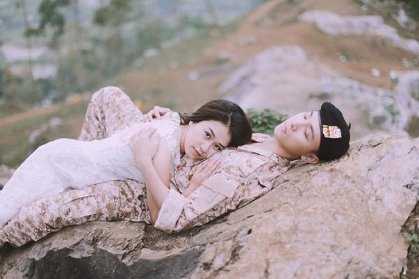 'Phát sốt' với bộ ảnh cưới 'Hậu duệ mặt trời' phiên bản Việt - ảnh 12