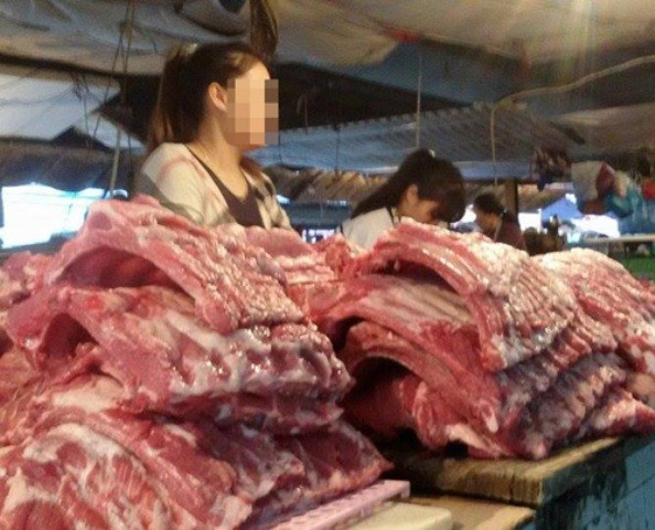 Thị trường thịt lợn biến động vì thông tin thịt chứa chất cấm - ảnh 2