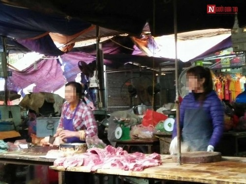 Thị trường thịt lợn biến động vì thông tin thịt chứa chất cấm - ảnh 1