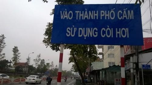 Biển lạ ở Huế: Vào thành phố Cấm? - ảnh 1