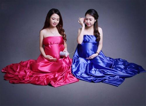 Kỳ diệu: Chị em sinh đôi cùng chuyển dạ một ngày - ảnh 2