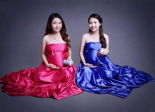 Kỳ diệu: Chị em sinh đôi cùng chuyển dạ một ngày - ảnh 4