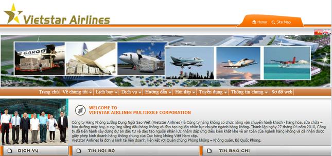 Vietstar Airlines không thuộc Quân chủng Phòng Không-Không quân - ảnh 1