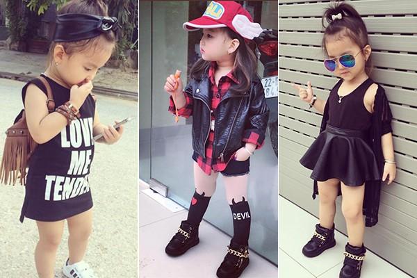 Bé gái 3 tuổi ở Tuyên Quang ăn mặc 'già trước tuổi' gây sốt mạng - ảnh 3