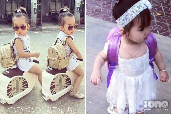Bé gái 3 tuổi ở Tuyên Quang ăn mặc 'già trước tuổi' gây sốt mạng - ảnh 6