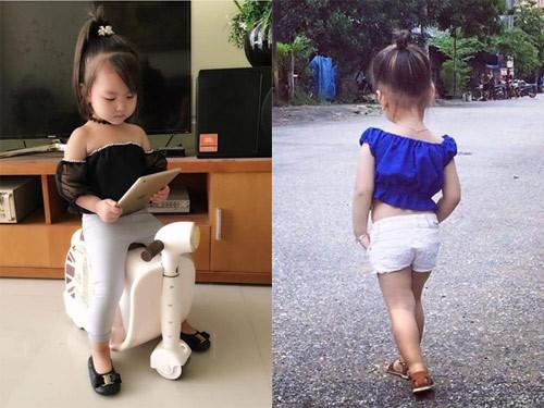 Bé gái 3 tuổi ở Tuyên Quang ăn mặc 'già trước tuổi' gây sốt mạng - ảnh 9