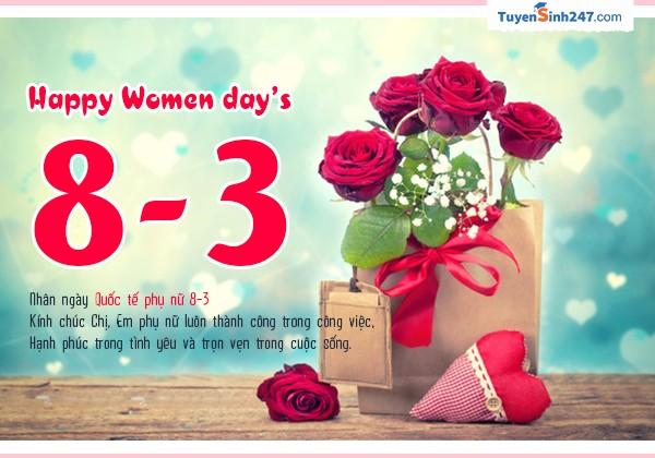 10 mẫu thiệp chúc mừng ngày quốc tế phụ nữ 8/3 đẹp nhất - ảnh 3