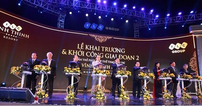 FLC Vĩnh Thịnh Resort khai trương, khởi công giai đoạn 2 - ảnh 1
