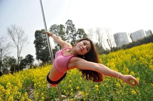 Dân mạng 'ném đá' gái trẻ diện bikini múa cột giữa vườn cải - ảnh 5