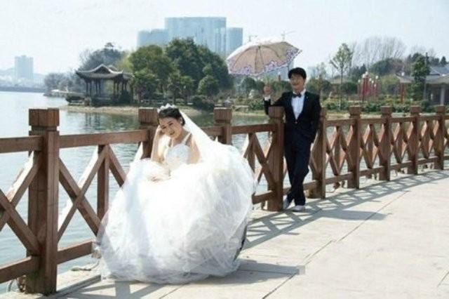 Nghẹn đắng bộ ảnh cưới của cô dâu mắc bệnh hiểm nghèo - ảnh 1