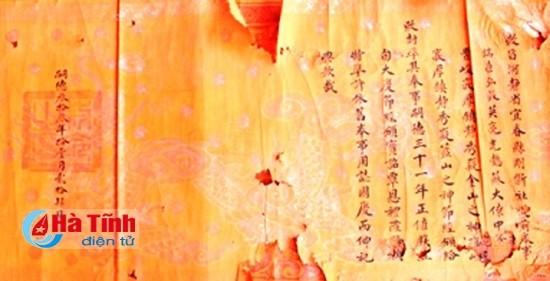 Phát hiện thêm 4 đạo sắc cổ liên quan đến thái úy Tô Hiến Thành - ảnh 2