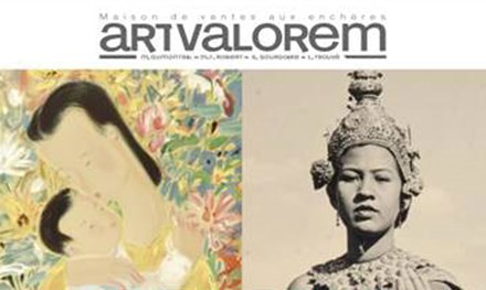 Đấu giá hiện vật nghệ thuật Đông Dương tại Paris - ảnh 1