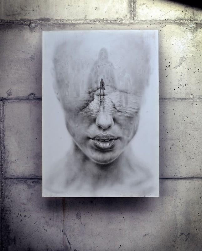 Khám phá bi kịch khác nhau qua các bức vẽ của nghệ sĩ Ba Lan - ảnh 2