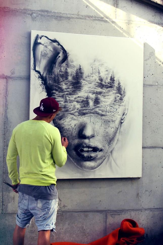 Khám phá bi kịch khác nhau qua các bức vẽ của nghệ sĩ Ba Lan - ảnh 7