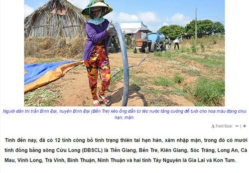Giật mình đề thi 'lạ' đưa Bình Thuận, Ninh Thuận xuống ĐBSCL - ảnh 2