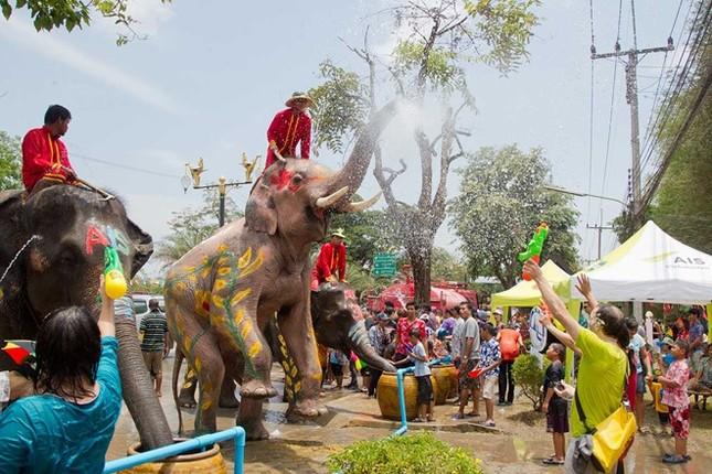 10 lưu ý khi dự Tết té nước Songkran - ảnh 1
