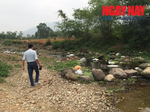 """Lợn chết vứt bừa bãi: Chủ tịch xã nói """"dị ứng"""" báo chí - ảnh 2"""