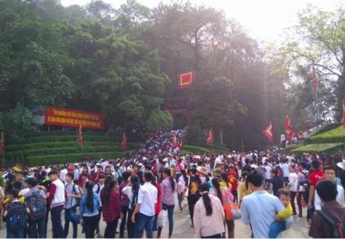 Nghỉ lễ Giỗ Tổ: Phú Thọ dự kiến đón 6-7 triệu du khách - ảnh 1