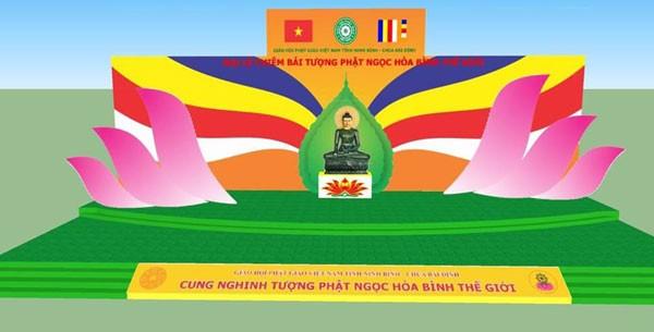 Tượng Phật ngọc hòa bình thế giới trở lại Việt Nam - ảnh 1