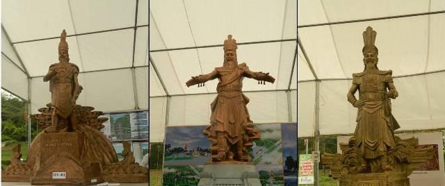 Tượng đài vua Hùng sẽ mang biểu tượng chung cho 18 đời vua - ảnh 1