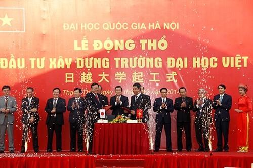 Nguyên Ủy viên Bộ Chính trị là Hiệu trưởng danh dự ĐH Việt Nhật - ảnh 1