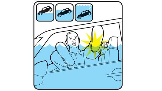 Làm thế nào để thoát chết khi ô tô lao xuống sông, hồ? - ảnh 3