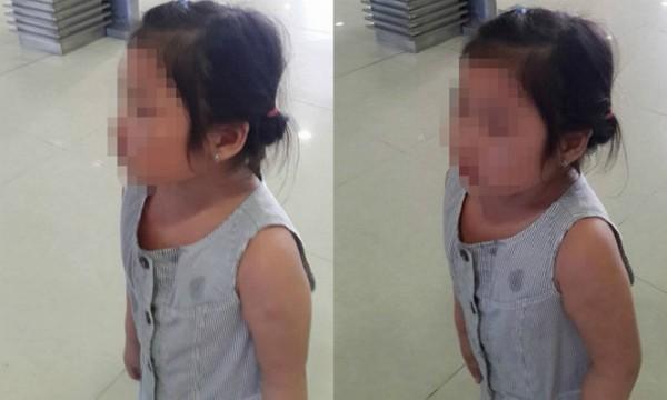 Đau lòng cảnh bé bị bạo hành mẹ thản nhiên đứng nhìn ở sân bay - ảnh 1