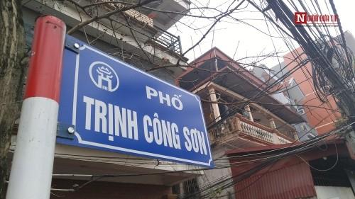 Con đường mang tên Trịnh Công Sơn giữa lòng Hà Nội - ảnh 3