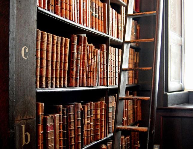 Chiêm ngưỡng thư viện cổ hơn 300 năm tuổi - ảnh 2