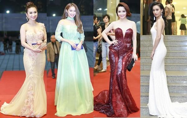 Kim Tuyến, Nhã Phương 'đổ bộ bữa tiệc thời trang' Cánh Diều Vàng - ảnh 1
