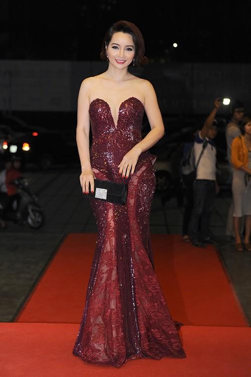 Kim Tuyến, Nhã Phương 'đổ bộ bữa tiệc thời trang' Cánh Diều Vàng - ảnh 10