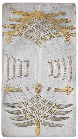 Bí mật trong bộ bài mạ vàng 400 năm tuổi - ảnh 1