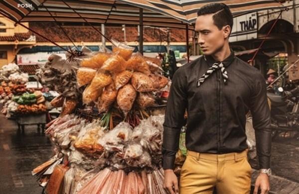 Kim Lý và vẻ đẹp Việt Nam trên tạp chí thời trang số 1 Myanmar - ảnh 1
