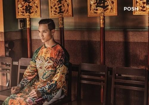 Kim Lý và vẻ đẹp Việt Nam trên tạp chí thời trang số 1 Myanmar - ảnh 6