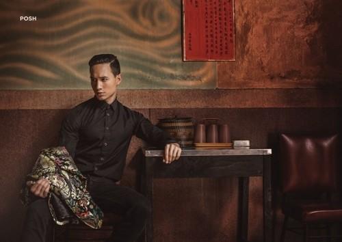 Kim Lý và vẻ đẹp Việt Nam trên tạp chí thời trang số 1 Myanmar - ảnh 5