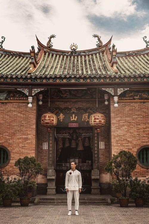 Kim Lý và vẻ đẹp Việt Nam trên tạp chí thời trang số 1 Myanmar - ảnh 3